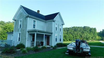 Clark County Single Family Home For Sale: 21118 Greenville Borden Road