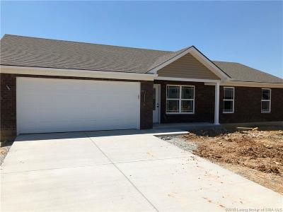 Jeffersonville Single Family Home For Sale: 2813 Horse Trail (Lot #223) Road