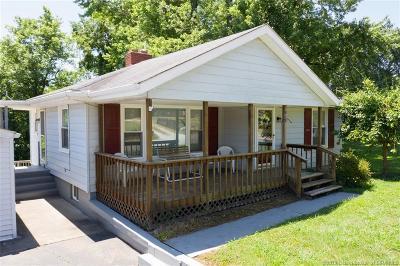 Jeffersonville Single Family Home For Sale: 619 Utica Sellersburg Road