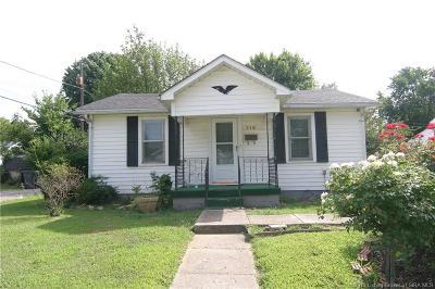 Jeffersonville Single Family Home For Sale: 716 Short Jackson Street
