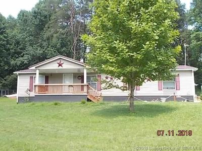 Scott County Single Family Home For Sale: 6099 E Hunterstown Road