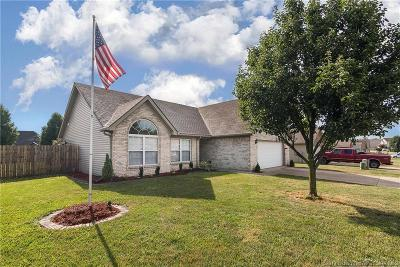 Sellersburg Single Family Home For Sale: 11901 Lewis Drive