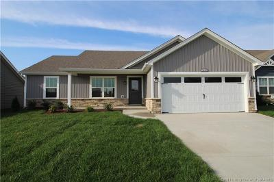 Jeffersonville Single Family Home For Sale: 3903 - Lot 157 Lotus Loop