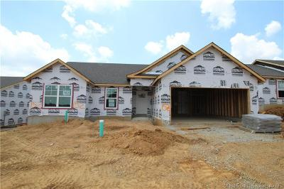 Jeffersonville Single Family Home For Sale: 1512 - Lot 152 Park-Land Trail