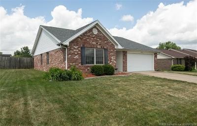 Jeffersonville Single Family Home For Sale: 4009 Crimson Point Drive