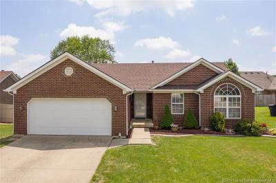 Sellersburg Single Family Home For Sale: 6812 Twin Springs Drive