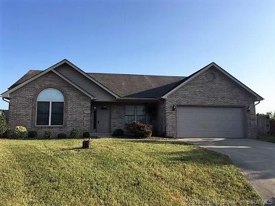 Jeffersonville Single Family Home For Sale: 4405 Black Slate Circle