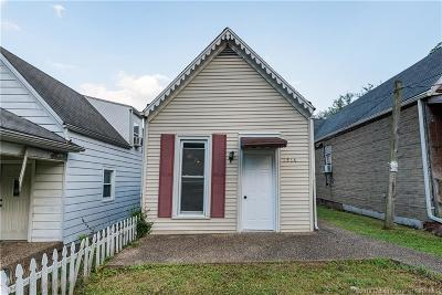 New Albany Single Family Home For Sale: 1516 Locust Street