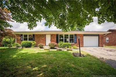 Clarksville Single Family Home For Sale: 667 Parkwood Drive