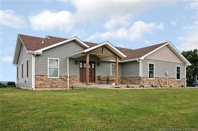 Crawford County Single Family Home For Sale: 797 E Carnes Mill Road
