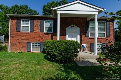 Jeffersonville Single Family Home For Sale: 110 Webster Boulevard