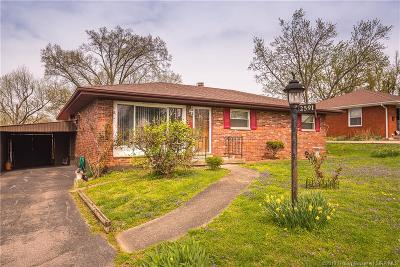 New Albany Single Family Home For Sale: 2591 E Robin Road