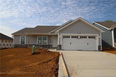 Jeffersonville Single Family Home For Sale: 1504 - Lot 148 Park-Land Trail