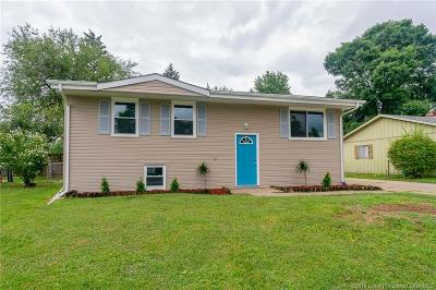 Clarksville Single Family Home For Sale: 1708 Whittier Drive