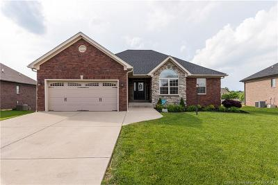 Jeffersonville Single Family Home For Sale: 3106 Timberlake Court
