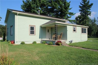 Floyd County Single Family Home For Sale: 204 Spickert Knob Road