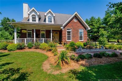 Sellersburg Single Family Home For Sale: 9635 Hwy 60