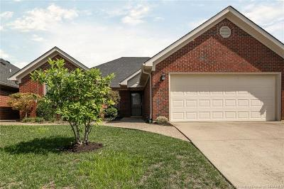 Jeffersonville Single Family Home For Sale: 3202 Greenleaves Drive
