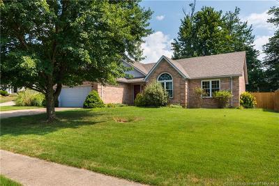 Sellersburg Single Family Home For Sale: 604 Buck Boulevard