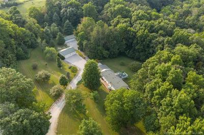 Harrison County Single Family Home For Sale: 5420 Lickford Bridge Road SW