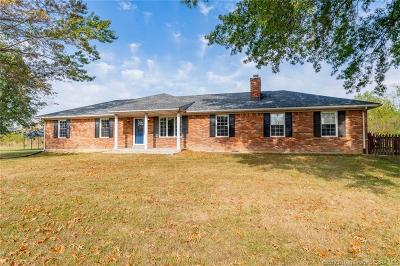 New Albany Single Family Home For Sale: 3517 St. Joseph Road