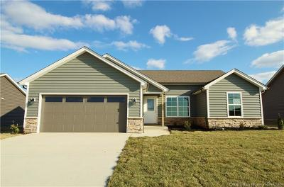 Floyd County Single Family Home For Sale: 6004 - Lot 302 Crestview Lane