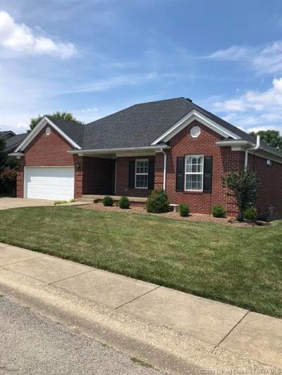 Sellersburg Single Family Home For Sale: 1612 Sterling Oaks Drive