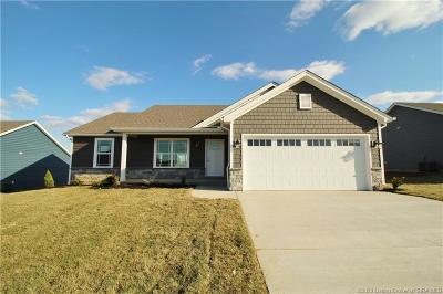 Georgetown Single Family Home For Sale: 6006 - Lot 303 Crestview Lane
