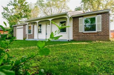 Jeffersonville Single Family Home For Sale: 732 Saratoga Drive