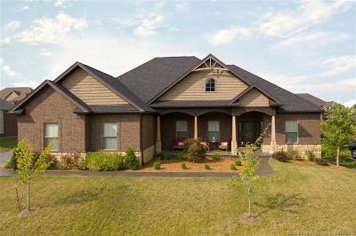 Sellersburg Single Family Home For Sale: 5016 Cooks Creek Lane