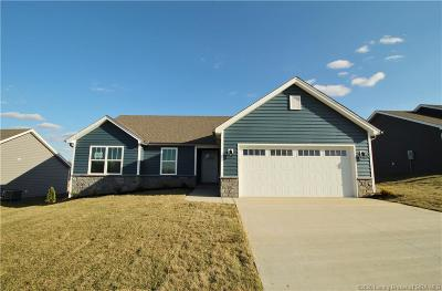 Georgetown Single Family Home For Sale: 6008 - Lot 304 Crestview Lane