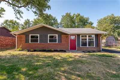 Clarksville Single Family Home For Sale: 1041 Redwood Drive