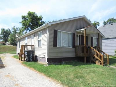 New Albany IN Single Family Home For Sale: $119,900