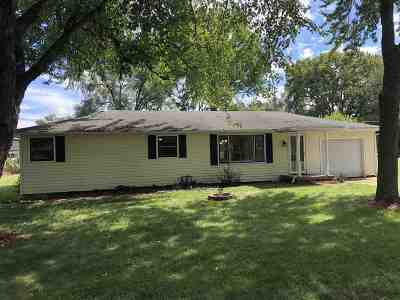 Terre Haute IN Single Family Home For Sale: $85,000