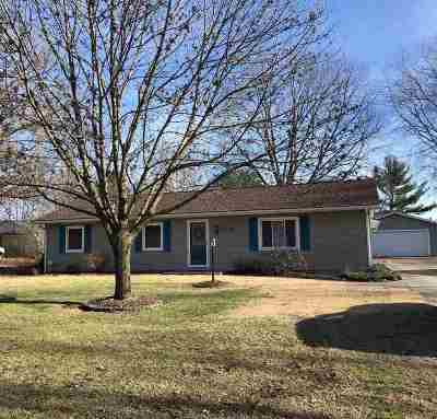 Terre Haute IN Single Family Home For Sale: $129,900