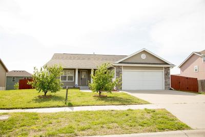 Junction City Single Family Home For Sale: 1010 Hickory Lane