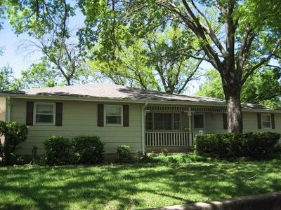 Abilene Single Family Home For Sale: 800 Spruceway