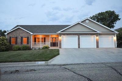 Junction City Single Family Home For Sale: 1515 Mistletoe Circle