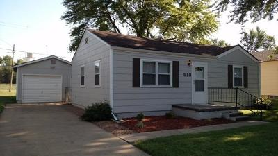 Abilene Single Family Home For Sale: 513 Southeast 6th Street