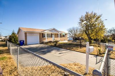 Junction City Single Family Home For Sale: 1401 Johnson Drive