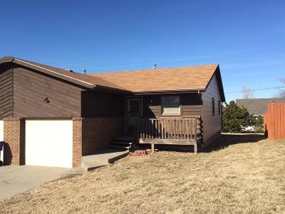 Junction City Single Family Home For Sale: 1207 Bluestem Drive