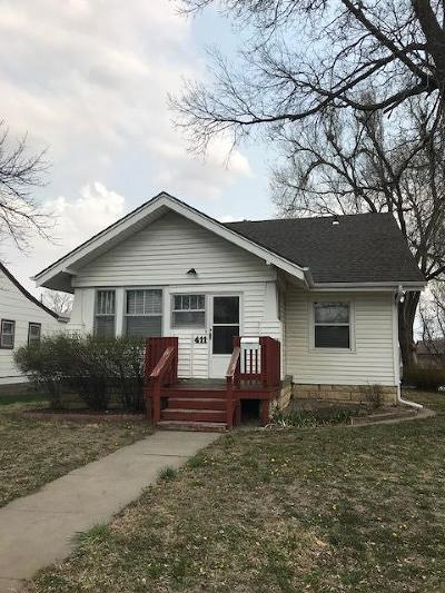 Junction City Single Family Home For Sale: 411 South Jefferson