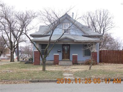Herington Single Family Home For Sale: 1001 West Walnut