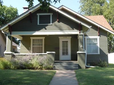 Abilene Single Family Home For Sale: 415 Northeast 8th Street