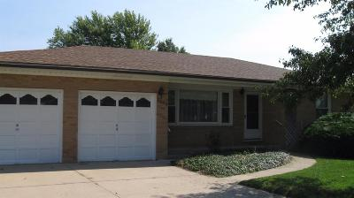 Great Bend KS Single Family Home For Sale: $125,900