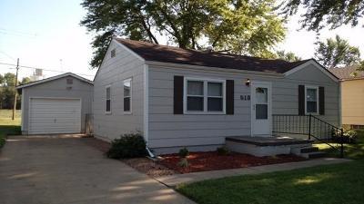 Abilene Single Family Home For Sale: 513 Southeast 6th Street