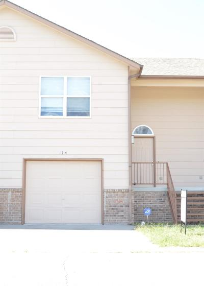Junction City Condo/Townhouse For Sale: 1114 Country Club Lane