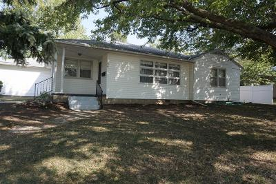 Herington Single Family Home For Sale: 614 North Broadway