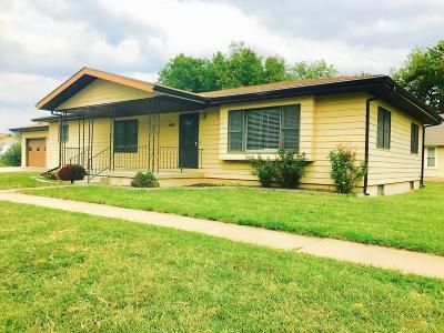 Chapman Single Family Home For Sale: 610 Logan Street