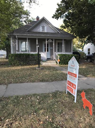Junction City Single Family Home For Sale: 430 7th Street
